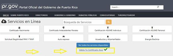 certificacion asume