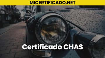 Certificado CHAS