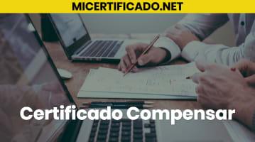 Certificado Compensar