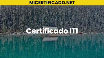 Certificado ITI