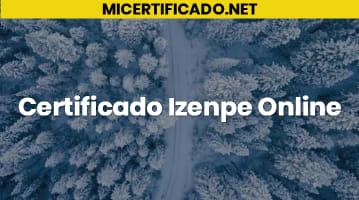 Certificado Izenpe Online