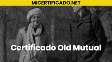 Certificado Old Mutual