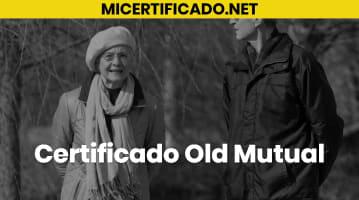 Certificado Old Mutual