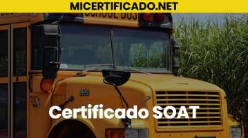Certificado SOAT