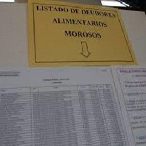 LISTA DE DEUDORES ALIMENTARIOS MOROSOS