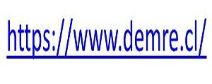 PAGINA WEB DEMRE