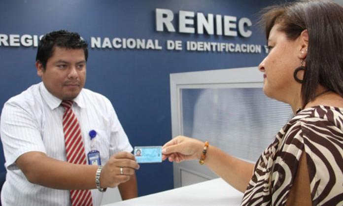 Servicios que ofrece RENIEC