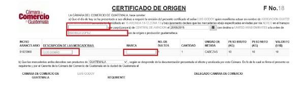 paso 2 verificacion certificado de origen