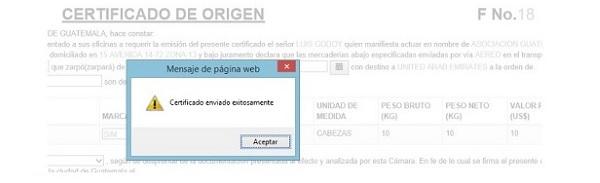 paso 7 verificacion certificados de origen