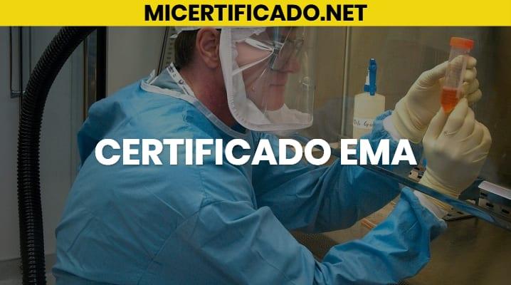 Certificado Ema