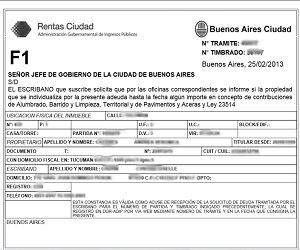 certificado de inhibición