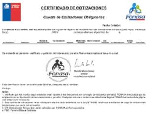 certificado fonasa