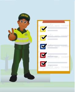 Certificado de codigo de policia