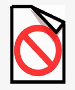 documentos prohibidos