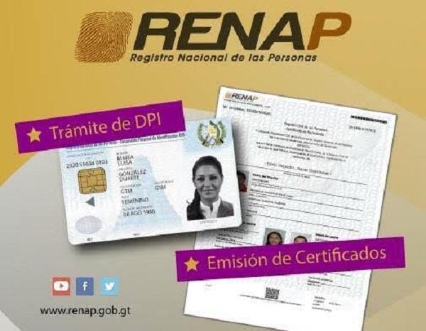 servicios y funciones del REnap
