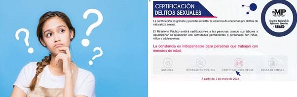 certificado renas