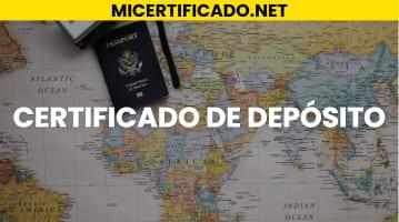 Cómo obtener un Certificado de depósito en República Dominicana